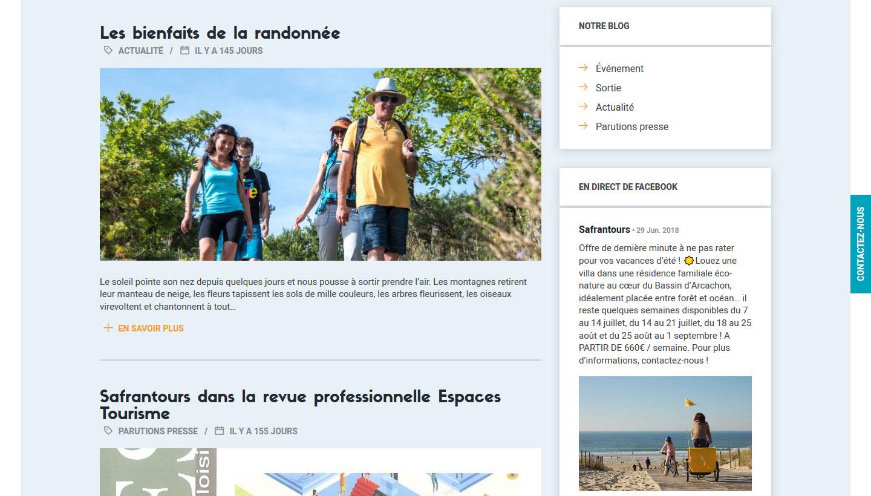 Blog de Safrantours