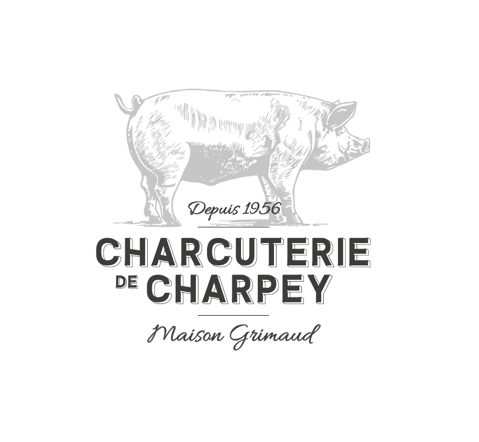 Nouveau logo Charcuterie de Charpey