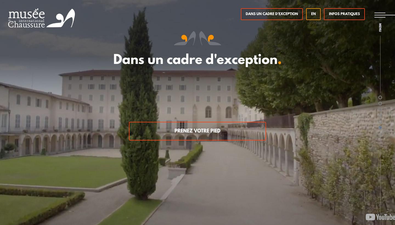 Call to action du Musée de la Chaussure