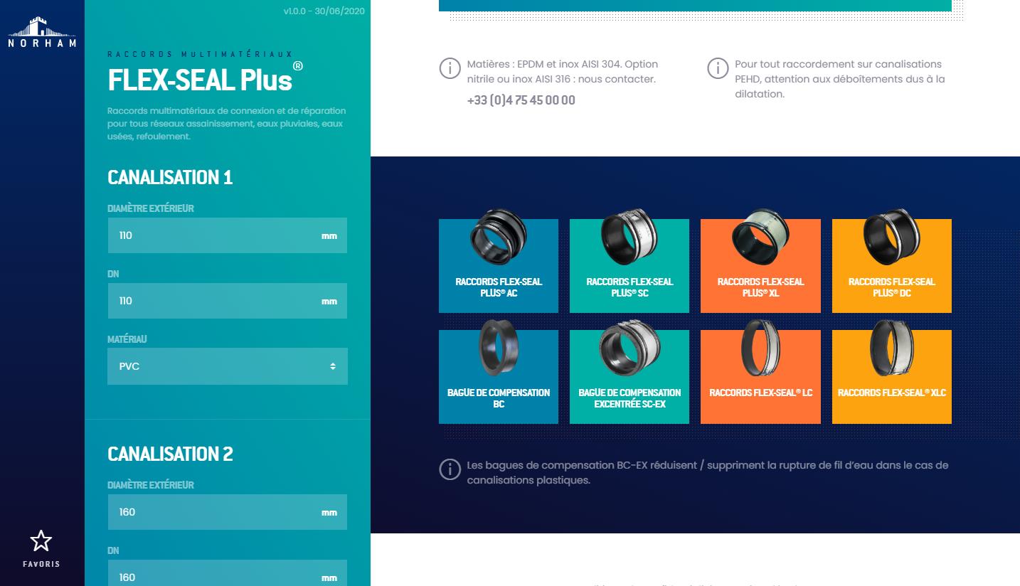 Webdesign de l'application Norham