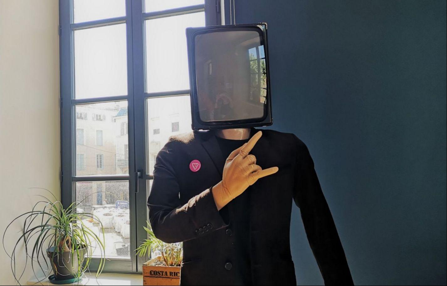 La mascotte de l'agence digitale 6tematik